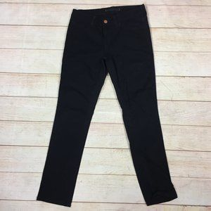 J Brand Black Pencil Leg Skinny Jeans